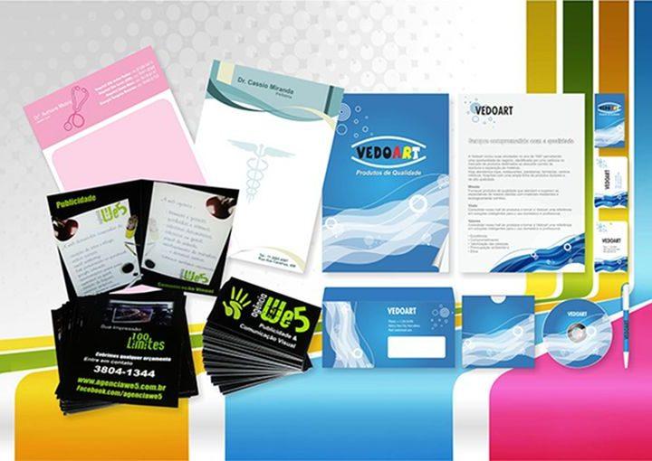 Panfletos, Cartões, Folders, Brochuras e Manuais