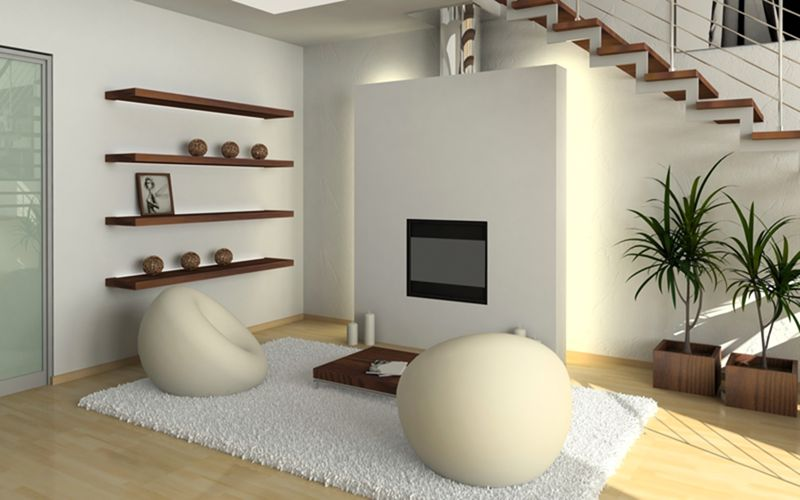 interior-design-fireplace-chairs-shelves-stairs