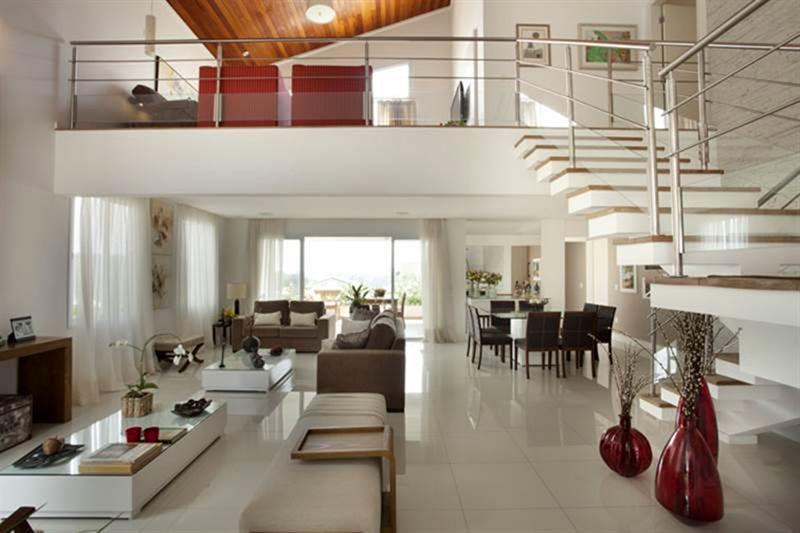 fotos de decoracao de interiores residenciais:em design de interiores emprega um modelo inovador e moderno de